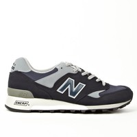 New Balance Men's Navy Blue M577NG Made in England Sneakers