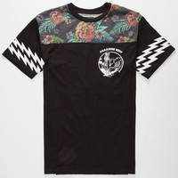 Neff Astro Death Mens T-Shirt Black  In Sizes