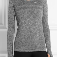 Nike | Dri-FIT Knit stretch-jersey top | NET-A-PORTER.COM
