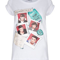 Teens White Union J T-Shirt
