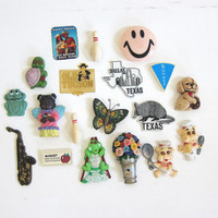 Vintage Lot of Kitchen Magnets for the Refrigerator