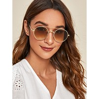 Top Bar Sunglasses With Case