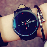 Womens Mens Leather Watch Gift - 522
