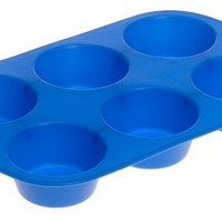 Wilton Easy Flex Silicone 6 Cup Muffin Pan
