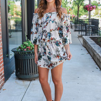 Heirloom Blooms Romper
