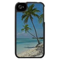 Tropical Beach iPhone 4 Speck Case from Zazzle.com