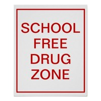 School Free Drug Zone