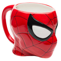Marvel Comics Spiderman Sculpted 13 oz. Ceramic Coffee Cup