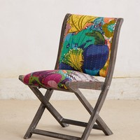 Overdyed Folding Chair