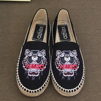 Kenzo Women Fashion Simple Casual Loafers  Shoes