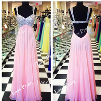 Sweetheart straps backless sequins Sexy Dress prom dress  Evening Dress  Bridesmaid Dress 2014 Hot Selling party dress