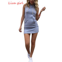 Summer Plus Size Women Dresses Casual Sleeveless Bodycon Mini Dress Girls Sexy Party Dresses Vestidos