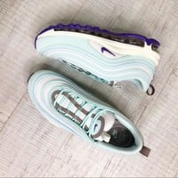 Nike Air Max 97 Sneaker Running Shoes Mint Teal