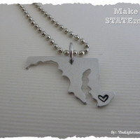 Maryland State Necklace - Make a STATEment