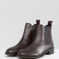 ASOS ABSOLUTE Leather Chelsea Ankle Boots at asos.com