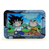Cloud Nimbus Metal Rolling Tray