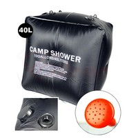 Outdoor High Quality Camping Solar Shower Bags climbing hiking backpack bagpack 40L Portable 10 Gallons Bathing Tent Accessories