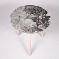 Moon Collection | Satellite Side Table - Light Grey