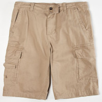 Charles And A Half Mens Cargo Shorts Khaki  In Sizes