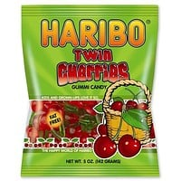 Haribo Twin Cherries Gummi Candy