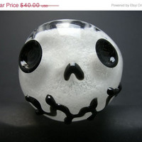 ON SALE Jack Skel Glow in the Dark Glass Pipe