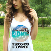 5 Seconds of Summer TShirt 5SOS Shirts 4 5Sos Tank Top 5sos Summer Shirt Singlet ClothingTee Tunic Crop Top TShirt