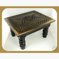 Triple Moon Altar Table