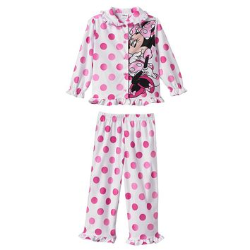 Disney Mickey Mouse & Friends Minnie Mouse Pajama Set - Toddler