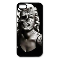 Marilyn Monroe Skull Face iPhone 5 Case Back Case for iphone 5