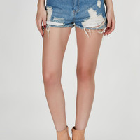 All The Way High Waisted Shorts