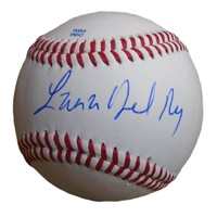 Lana Del Rey Autographed Rawlings ROLB Leather Baseball, Proof Photo