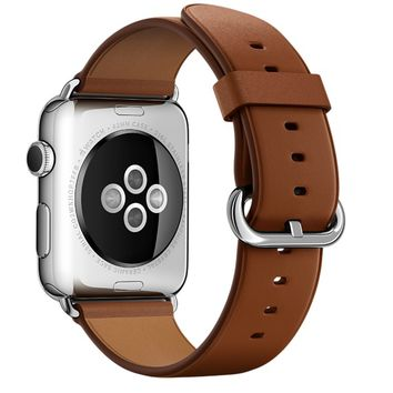 42mm Saddle Brown Classic Buckle