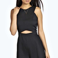 Suzanne Cut Out Woven Playsuit