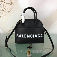 KUYOU Balenciaga Trendy graffiti shell bag 26-12-22CM Samll 18-8-15CM Black White