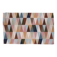 Earth Triangles Rug
