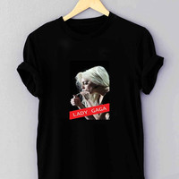 "Lady gaga 5 - T Shirt for man shirt, woman shirt ""01"""