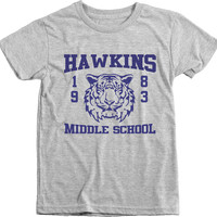 Kid's Stranger Things 1983 Hawkins Middle School Tri-Blend T-Shirt