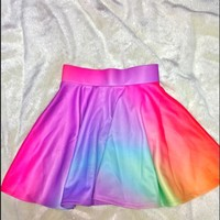 SWEET LORD O'MIGHTY! CRAYON SK8R SKIRT