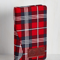 Rustic Plaid a Great Day Journal by ModCloth