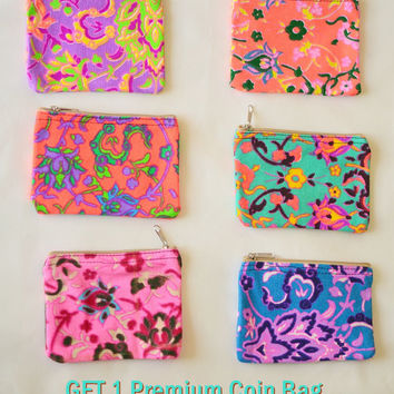 FREE  1  Coin purse when buy any 2 Pcs in BOHOPeach Shop ( until 29 Feb 2016 )