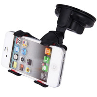 360 degree rotating Universal Car Mount Smartphone Holder for Safe Driving = 1843118084