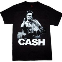 Johnny Cash - Cash Flippin' T-Shirt Size S