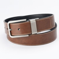 Apt. 9 Cut-Edge Stitched Reversible Belt - Men, Size: