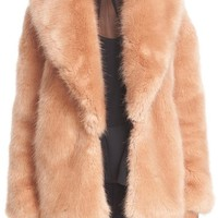 Opening Ceremony Faux Fur Front Sweater | Nordstrom