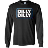 Bud Light Official Dilly Dilly T-Shirt G240 Gildan LS Ultra Cotton T-Shirt