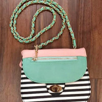 Express Yourself Purse - Mint