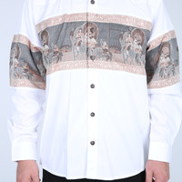 The Herds Western Shirt in White