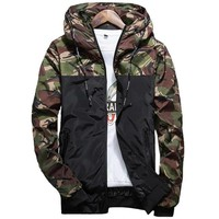 Trendy Camouflage Jackets Men's Coats 2018 IGGY Spring Summer Casual Camo Male Jackets Army Military Men Outerwear Slim M-5XL AT_94_13