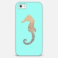 *** GATSBY GOLD SEAHORSE MINT *** | Casetagram & Monika Strigel for iphone 5c, 5s, 5, 4s, 4, 3gs, 3g & ipod touch & samsung galaxy !!!