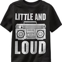 """""""Little and Loud"""" Tees for Baby"""